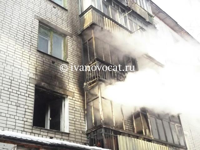 ВИванове работники МЧС эвакуировали жильцов изпятиэтажного дома