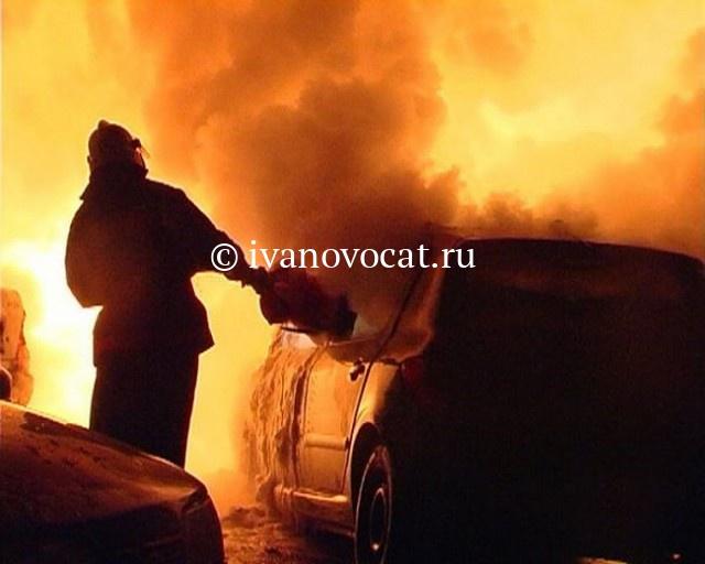 ВИвановской области ночью сгорели два магазина, один передвижной, другой стационарный