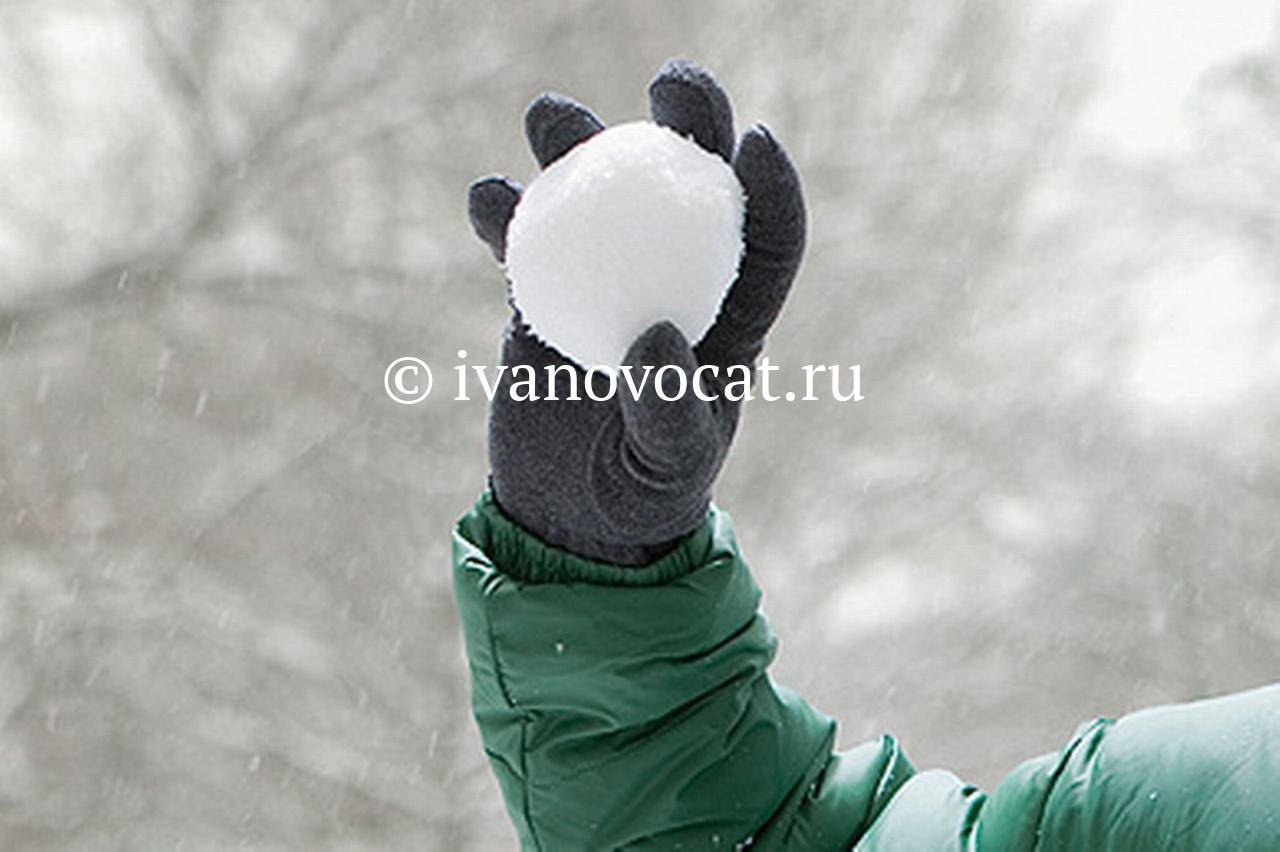 Охранник накинулся наивановского школьника из-за брошенного снежка