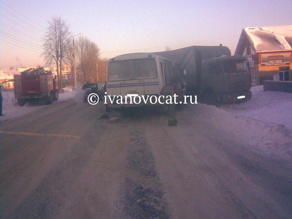14 февраля в 11-45 на 103 километре автодороги ростов -иваново-нижний новгород (тейковский район